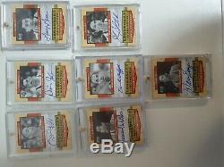 2003-04 UD Legendary Signatures JORDAN, MIKAN, MAGIC, EWING FULL SET