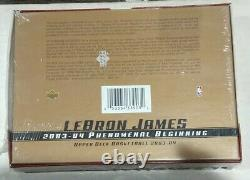 2003-04 Upper Deck Phenomenal Beginning Lebron James Factory Sealed Box Set RC
