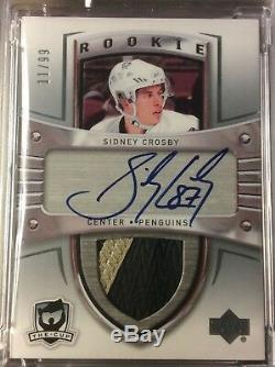 2005-06 The Cup Hockey Sidney Crosby COMPLETE AUTO / PATCH ROOKIE RC'S