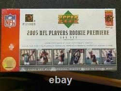2005 Upper Deck NFL Rookie Premiere Sealed Box Set Aaron Rodgers Auto or Gold