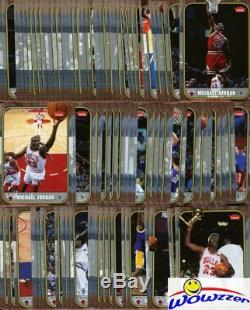 2007/08 Fleer Michael Jordan MASSIVE 100 Card Career Set-86 Fleer ROOKIE Design