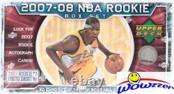 2007/08 UD NBA Rookie Premiere Factory Sealed Set-Kevin Durant RC-Look for AUTO