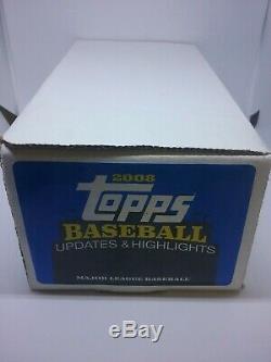 2008 Topps Baseball Update Complete Set Kershaw and Scherzer RC