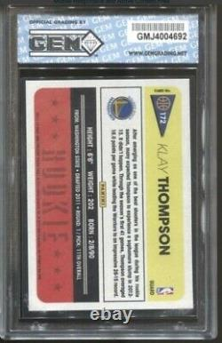 2009 Topps Stephen Steph Curry RC #321 + 2012 PANINI #172 KLAY THOMPSON PSA 10