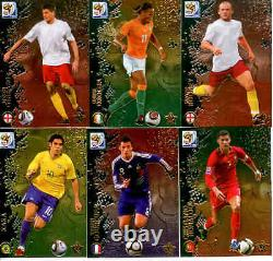 2010 FIFA South Africa World Cup Soccer Trading Card Set (196) Missing 2 Cards