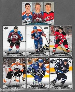 2011-12 UPPER DECK Hockey Series 1 & 2 Complete set 1-500 with Young Guns