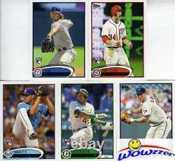2012 Topps Baseball 667 Card Factory Set-2 BRYCE HARPER RC+Mick Mantle REFRACTOR