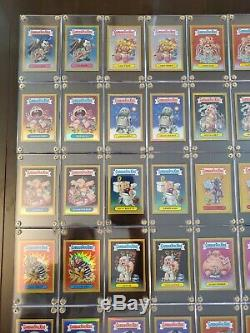 2013 Garbage Pail Kids Chrome Os1 Complete Gold Refractor Set