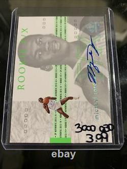 2013 Sp Authentic Michael Jordan Rookie F/x Auto 72