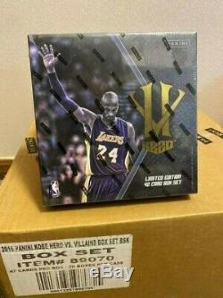 2015-16 Panini Kobe Bryant Hero Villain Basketball Card Box Set NEW SEALED BOX