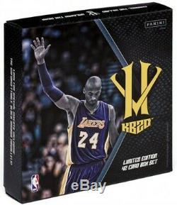 2015-16 Panini Kobe Bryant Hero/villain Factory Sealed Box Set Auto