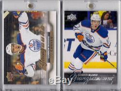 2015-16 Upper Deck Connor Mcdavid Young Guns And Ud Canvas Yg Rc Set Of 2