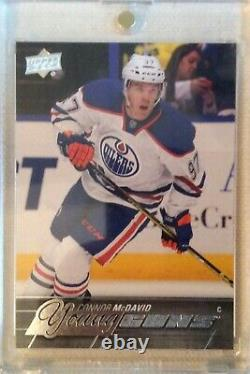 2015-16 Upper Deck Young Guns #201 Connor Mcdavid 15-16 Ud Yg Rookie Rc (ref328)