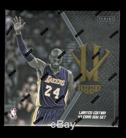 2015-2016 Panini Kobe Bryant Black Mamba Hero Villain Basketball Card Box Set
