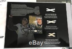2016-17 Tim Horton Collection's Master Set Crosby Game Used Stick Net /150 Autos