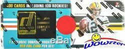 2016 Donruss Football 401 Card RED FOIL Factory Sealed Set-100 RC-Prescott, Wentz