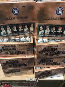 2018 Topps Allen & Ginter X Hobby Box Sealed Factory Online Exclusive 1 Auto per