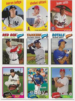 2018 Topps Archives Complete Base & SP Set 320 Cards Torres Acuna Ohtani Soto RC