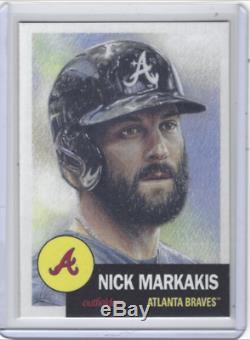 2018 Topps Living Set Card #6 Nick Markakis Atlanta Braves