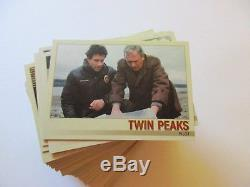 2018 Twin Peaks Trading Cards Complete MINI-MASTER SET with Binder, Insert Cards