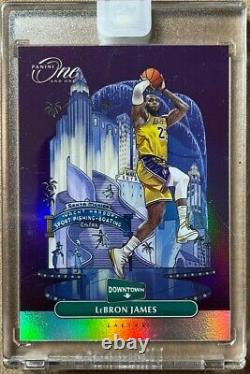 2019-20 Panini One And One Downtown Complete Set Zion Lebron Ja Luka Curry Trae