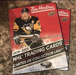 2019-20 UD Upper Deck Tim Hortons Hockey Complete Master Set 234 Cards + Binder
