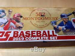 2019 Topps 582 Montgomery Club Baseball Complete Factory Sealed Set Alonso Tatis
