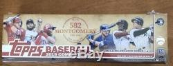 2019 Topps 582 Montgomery Sealed Complete 700 Card Factory Set Series 1 & 2