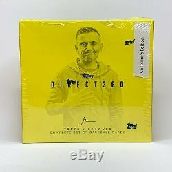 2019 Topps GARY VEE COLLECTORS EDITION Sealed Set GUARANTEED AUTO Golden Ticket