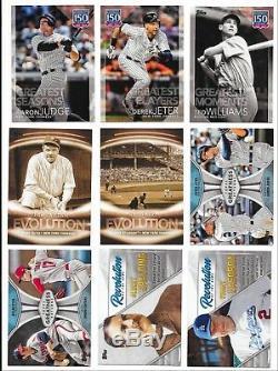 2019 Topps Series 1 Baseball COMPLETE HOBBY MASTER SET (720) CARDS 7 Insert Sets