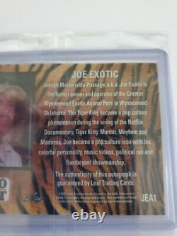 2021 Leaf Pro Set Joe Exotic auto autograph rookie card Tiger King HOT CARD