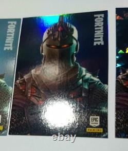 3 x black knight 2019 Fortnite Cards Series One panini crystal foil base #252