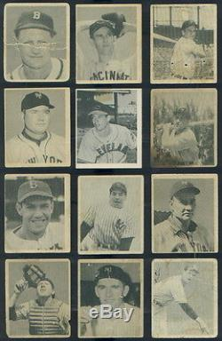 (3071) 1948 Bowman Baseball complete set Musial Rizzuto Feller Berra Kiner Mize