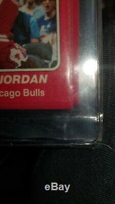 AMAZING! Sealed bag Star Michael Jordan 101 BGS 8 BGS 8.5 Bulls team set 1984