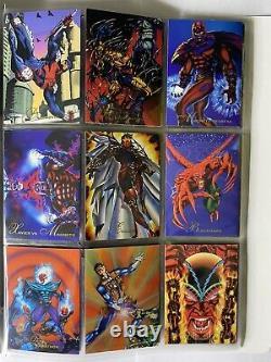 Album 1994 Marvel Pepsi Cards Mexico Full Set COMPLETE Set M295