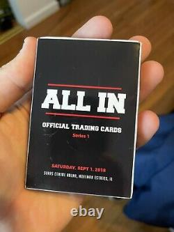 All In Trading Card Set 2018 AEW ALL ELITE WRESTLING ALL OUT MJF BAKER BUCKS