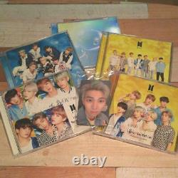 BTS Lights Boy With Luv 5 Type Set FC Limited Edition With 7 Photo Trading Card