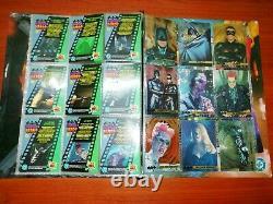 Batman Forever Pepsi Cards COMPLETE! Spanish + Collector Album + Full Envelope