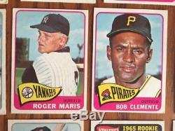 Complete 1965 Topps Baseball Card Set, Overall Condition Ex+/