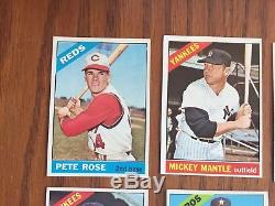 Complete 1966 Topps Baseball Card Set, Ex To Exmt