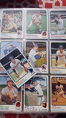 Complete 1973 Topps Baseball Set In Album High Grade Set Mike Schmidt Rookie