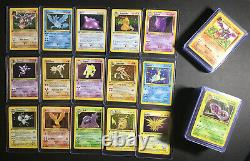 Complete Full 1st Edition Fossil Set All # 62/62 Pokemon Trading Cards TCG Games