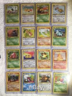Complete Full 1st Edition Jungle Set All # 64/64 Pokemon Trading Cards TCG Games