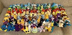 Complete Set 109 McDonald's Neopets 4 2004 Plushies with Tags and Trading Cards
