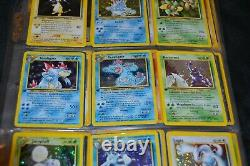 Complete Set of 1st Edition Neo Genesis All 111/111 Pokemon Trading Cards TCG