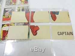 DONRUSS 1966 Marvel Super Heroes COMPLETE (66 / 66) Full Puzzle Back Set