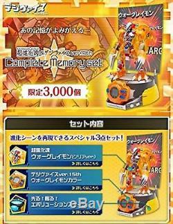 Digimon Adventure Digivolving Spirits & Digivice Ver15th Complete Memory Set F/S
