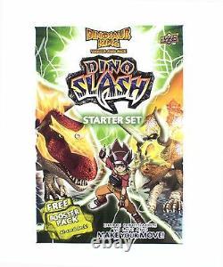 Dinosaur King Upper Deck Dino Slash Starter Deck Trading Cards Set In the USA