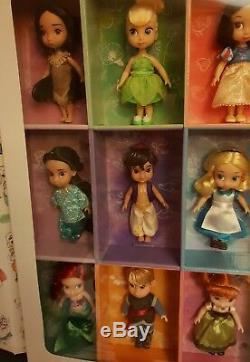 Disney animators 15 mini doll collection by Disney Store 1st edition set