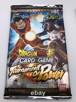Dragon Ball Super Sealed Themed Booster Pack Tournament Of Power Card TB1